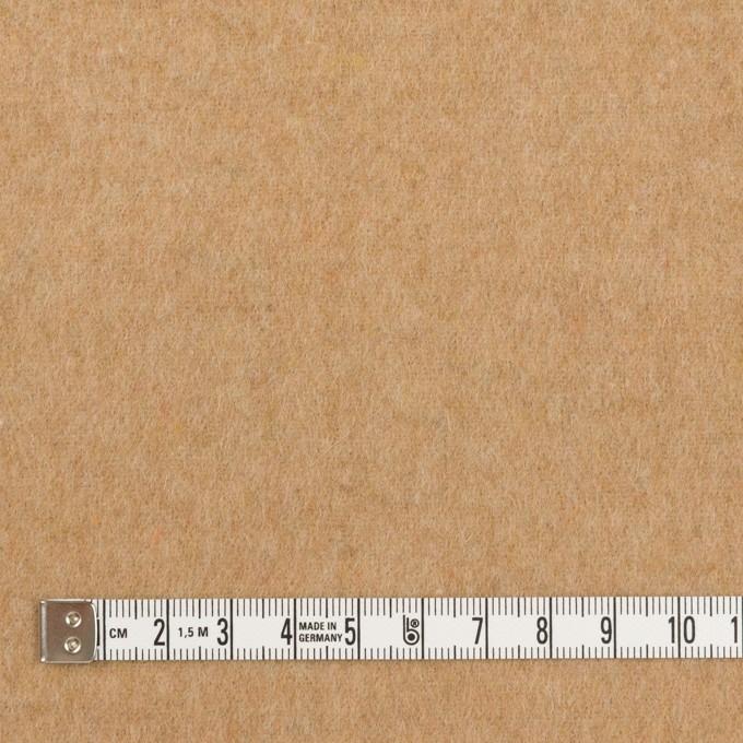 ウール×無地(ベージュ)×フラノ(フランネル) イメージ4