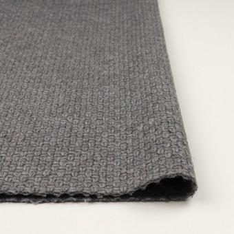 ウール&ナイロン×無地(グレー)×斜子織 サムネイル3