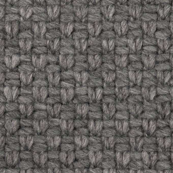 ウール&ナイロン×無地(グレー)×斜子織 イメージ1