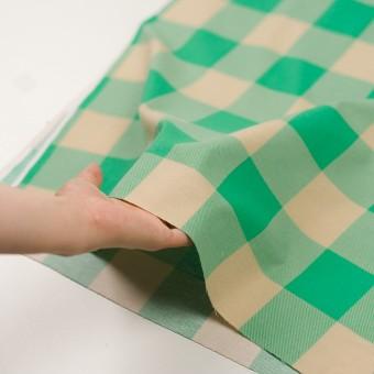 コットン×チェック(キナリ&エメラルドグリーン)×フランネル_全2色 サムネイル5