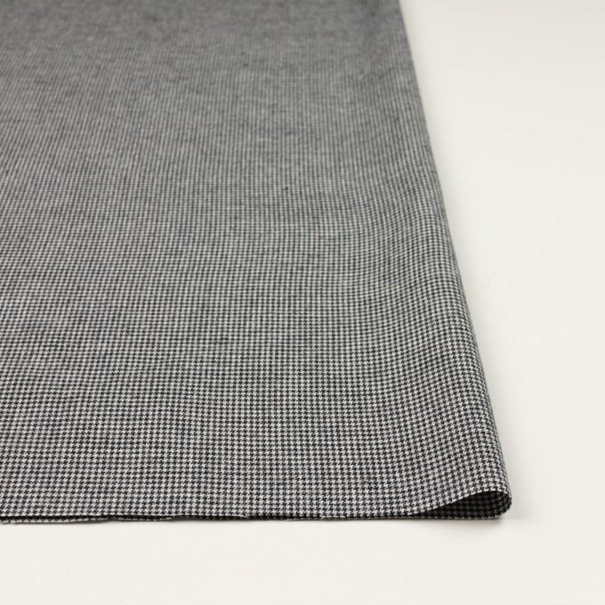 コットン×チェック(ブラック)×千鳥格子 イメージ3