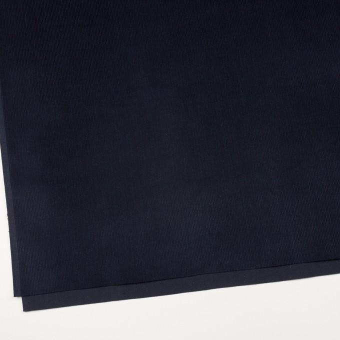 コットン×無地(ネイビー)×中細コーデュロイ イメージ2