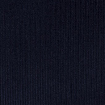 コットン×無地(ネイビー)×中細コーデュロイ サムネイル1