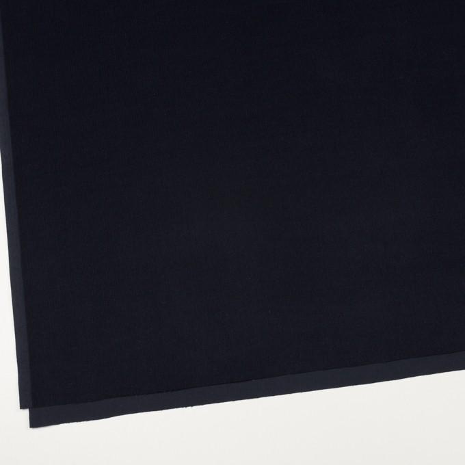 コットン×無地(ダークネイビー)×細コーデュロイ イメージ2