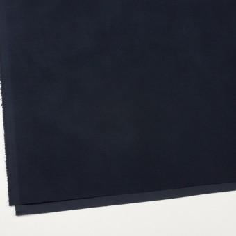 コットン&ポリウレタン×無地(ダークネイビー)×フランネル・ストレッチ サムネイル2