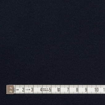 コットン&ポリウレタン×無地(ダークネイビー)×フランネル・ストレッチ サムネイル4