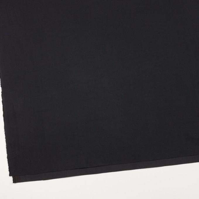コットン×無地(ブラック)×ビエラ_イタリア製 イメージ2
