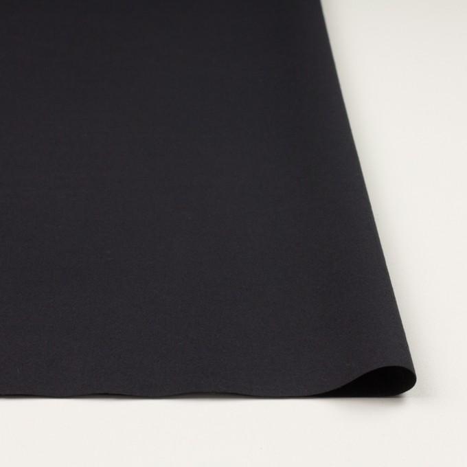 コットン×無地(ブラック)×ビエラ_イタリア製 イメージ3