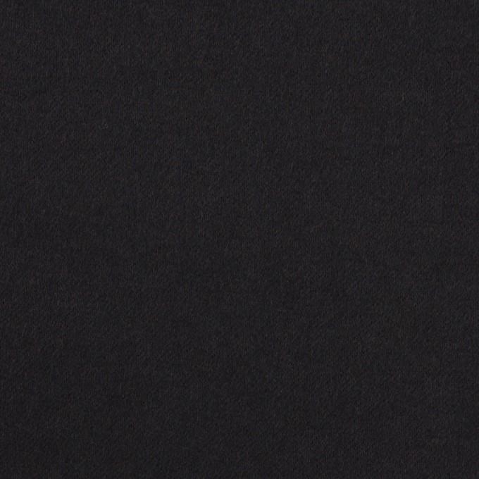 コットン×無地(ブラック)×ビエラ_イタリア製 イメージ1