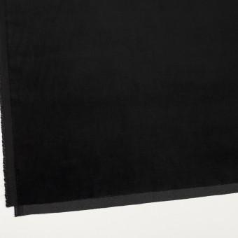 ポリエステル&コットン混×無地(ブラック)×ベッチンストレッチ_全3色 サムネイル2