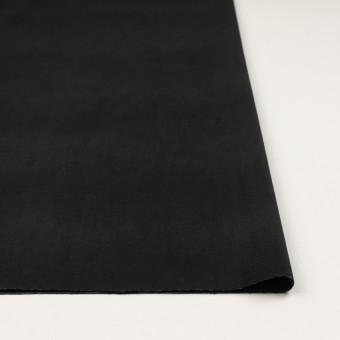 ポリエステル&コットン混×無地(ブラック)×ベッチンストレッチ_全3色 サムネイル3