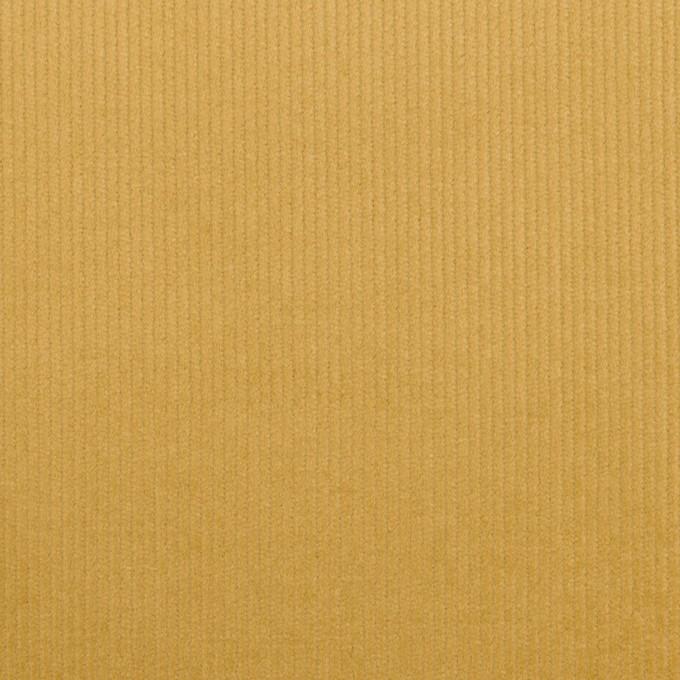コットン&ポリウレタン×無地(イエローオーカー)×細コーデュロイ・ストレッチ_全3色 イメージ1