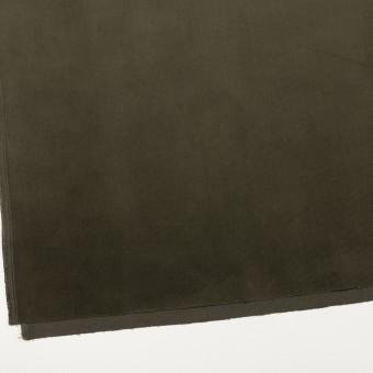 コットン&ポリウレタン×無地(ダークカーキグリーン)×細コーデュロイ・ストレッチ_全3色 サムネイル2