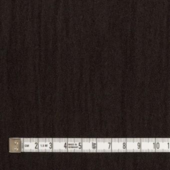 ウール&メタル×無地(ダークブラウン)×ジョーゼットワッシャー_全2色_イタリア製 サムネイル4