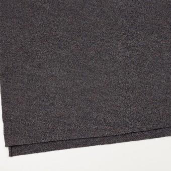 ウール×ミックス(グレー、ネイビー&ブラウン)×かわり編み サムネイル2