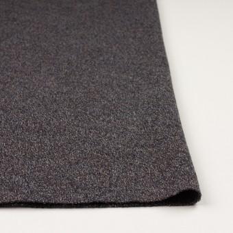 ウール×ミックス(グレー、ネイビー&ブラウン)×かわり編み サムネイル3