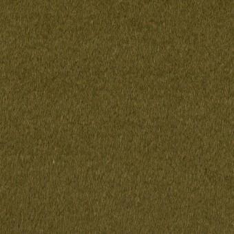 ウール&アンゴラ×無地(カーキグリーン)×ビーバー サムネイル1