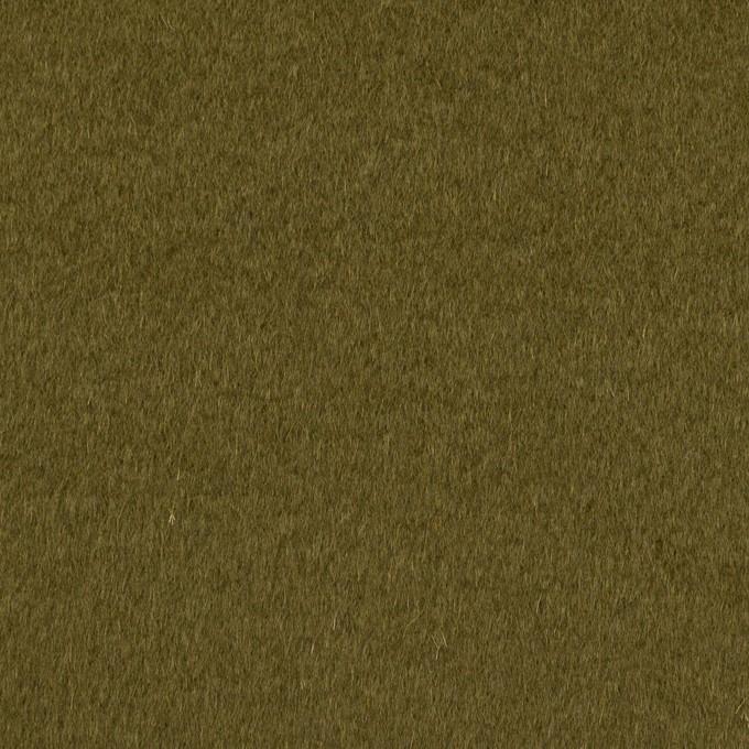 ウール&アンゴラ×無地(カーキグリーン)×ビーバー イメージ1
