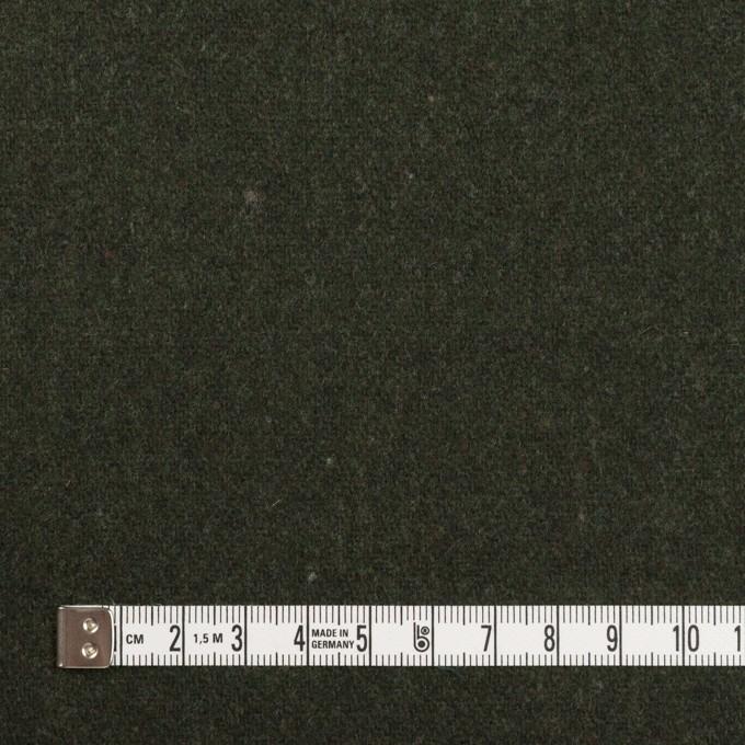 ウール×無地(モスグリーン)×ツイード イメージ4