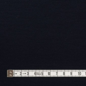 リヨセル&アクリル混×無地(ダークネイビー)×かわり編み サムネイル4