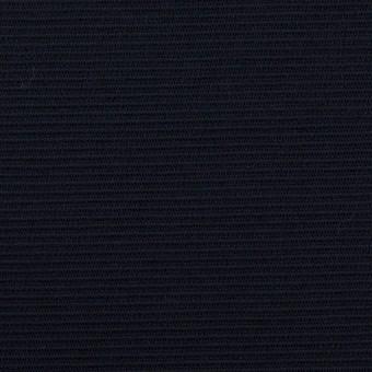 リヨセル&アクリル混×無地(ダークネイビー)×かわり編み
