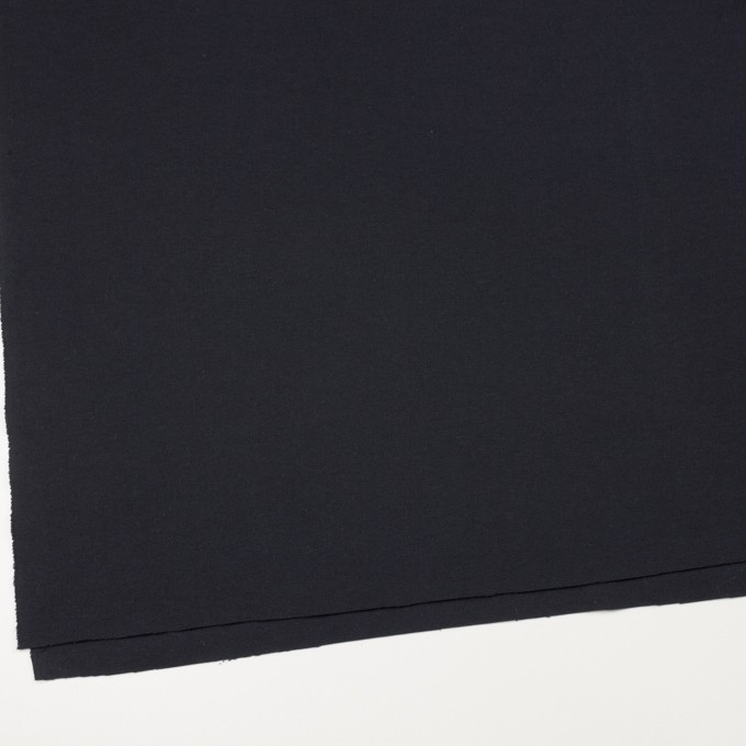 レーヨン&ポリエステル×無地(ダークネイビー)×Wニット イメージ2