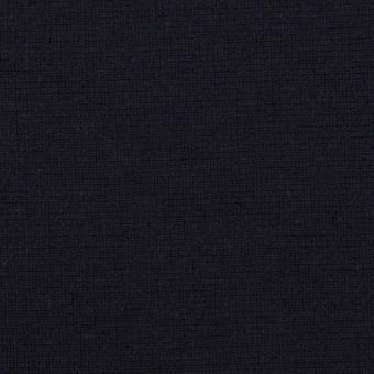 レーヨン&ポリエステル×無地(ダークネイビー)×Wニット サムネイル1