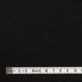 ウール&アクリル×無地(ブラック)×Wニット サムネイル4