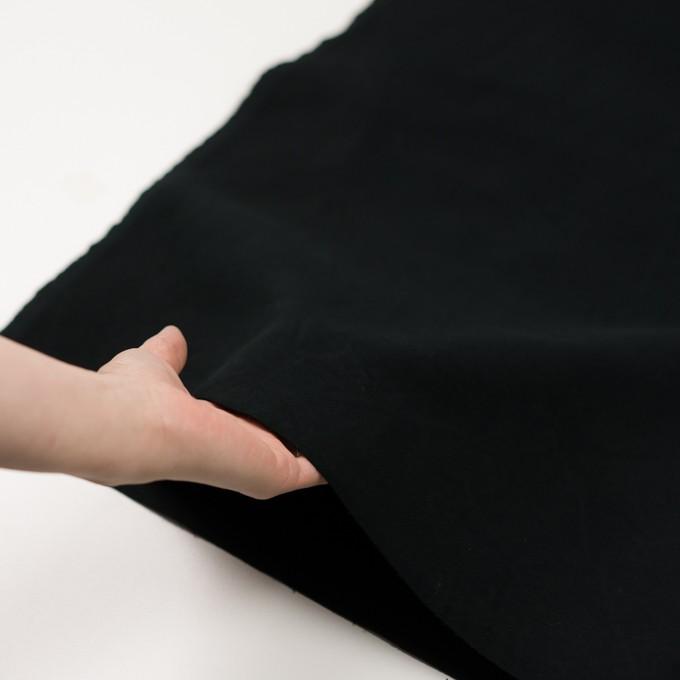 コットン×無地(ブラック)×モールスキン_全2色 イメージ5