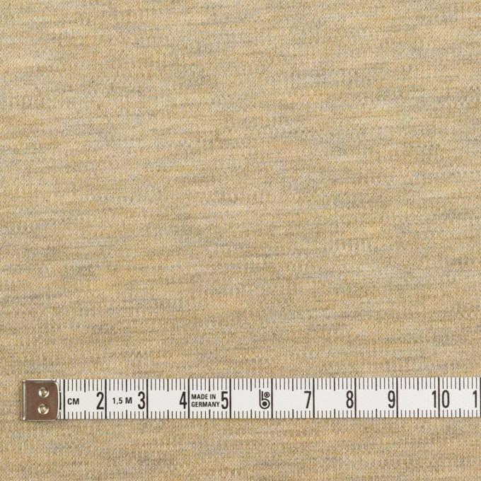 ポリエステル×アクリル混×ミックス(オートミール)×Wニット イメージ4