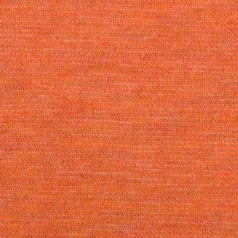 ウール×無地(オレンジ)×Wニット