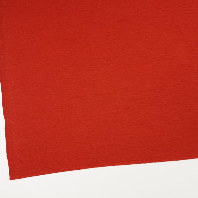 ウール&テンセル×無地(レッド)×天竺ニット イメージ2