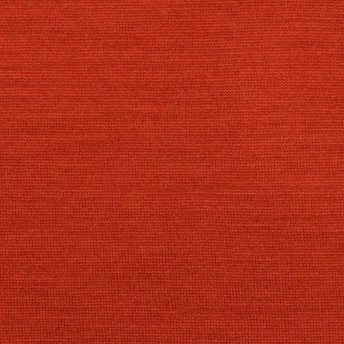 ウール&テンセル×無地(レッド)×天竺ニット イメージ1