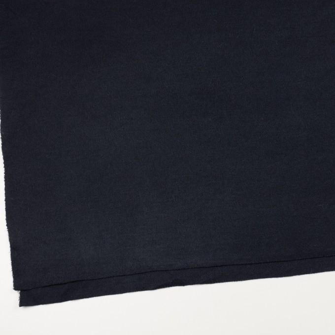 アクリル&ウール混×無地(ネイビー)×かわり編み イメージ2