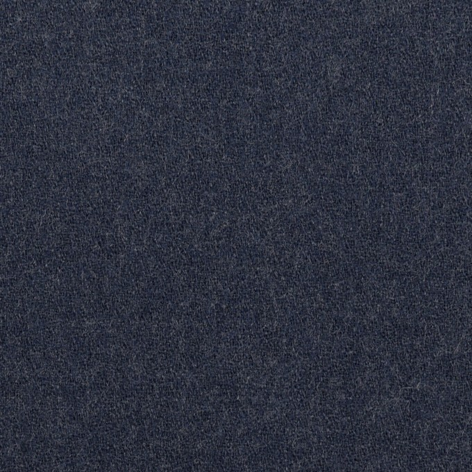 ウール×無地(ネイビー)×ジョーゼット イメージ1