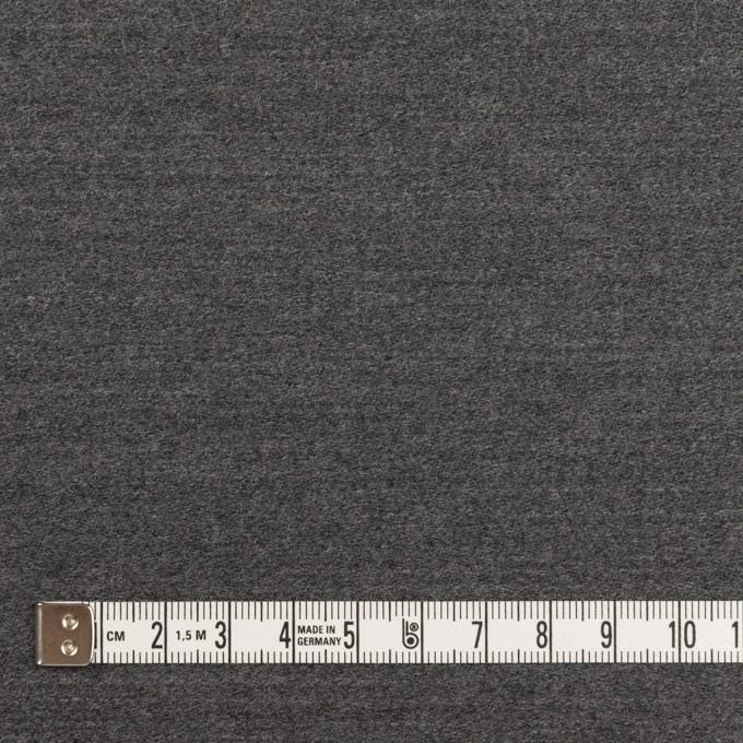 ウール×無地(チャコールグレー)×ベネシャン イメージ4