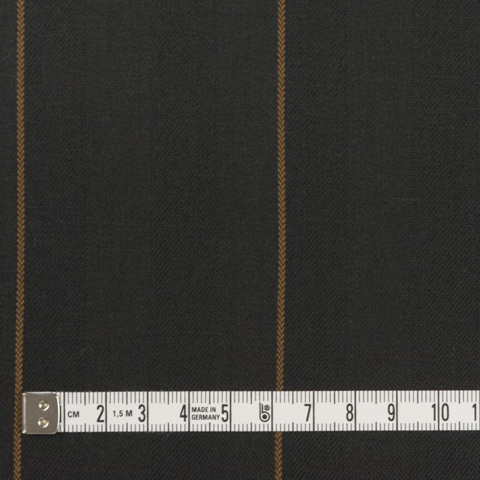 コットン×ストライプ(チャコール&モカ)×ヘリンボーン イメージ4