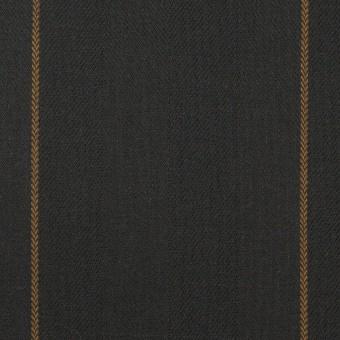 コットン×ストライプ(チャコール&モカ)×ヘリンボーン サムネイル1