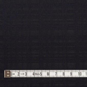 コットン×チェック(ダークネイビー)×ジャガード サムネイル4