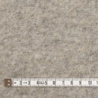 ウール&ポリエステル×無地(アッシュグレー)×ループニット サムネイル4