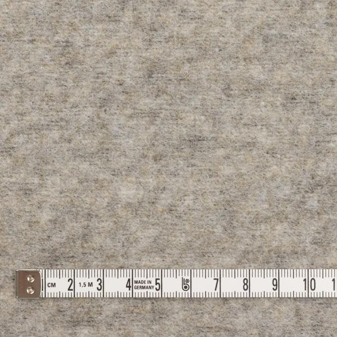ウール&ポリエステル×無地(アッシュグレー)×ループニット イメージ4