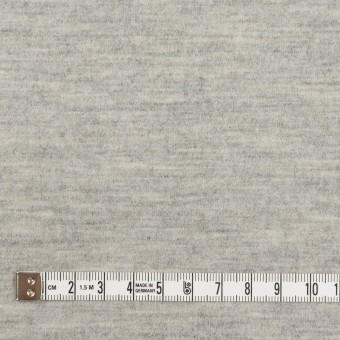 ウール×無地(ライトグレー)×圧縮ニット サムネイル4