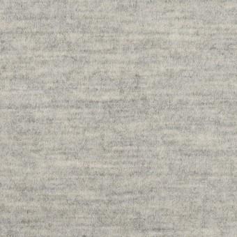 ウール×無地(ライトグレー)×圧縮ニット サムネイル1