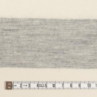 ウール×ボーダー(ミルキーホワイト&ライトグレー)×圧縮ニット サムネイル4
