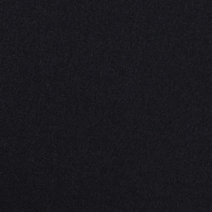 ウール×無地(ダークネイビー)×フラノ(フランネル)_全2色 イメージ1