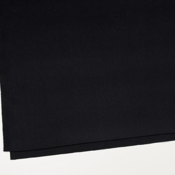 ウール×無地(ブルーブラック)×ビーバー イメージ2
