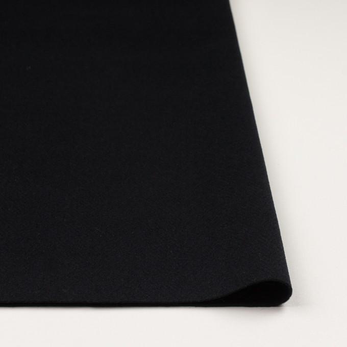 ウール×無地(ブルーブラック)×ビーバー イメージ3
