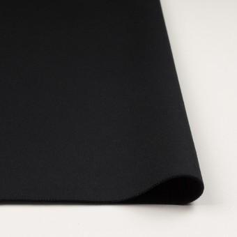 ウール×無地(ブラック)×ソフトメルトン サムネイル3