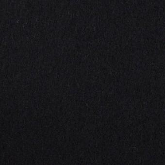 ウール×無地(ブルーブラック)×ソフトメルトン サムネイル1
