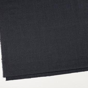 ウール&ポリウレタン×チェック(ダークネイビー&グレー)×千鳥格子ストレッチ サムネイル2